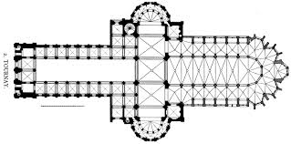 cathedral floor plan file dehio 83 tournai floor plan ver jpg wikimedia commons