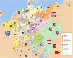 Bohemia Map Holy Roman Empire By Hillfighter On Deviantart