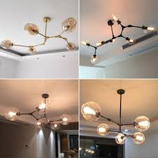 Kitchen Chandelier Lighting Globe Glass Chandelier L Modern Chandelier Lighting For