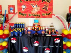 my completed charms fee birthday cake michael u0027s pokemon party