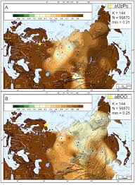 Map Of Eurasia Ancient Dna Reveals Prehistoric Gene Flow From Siberia In The