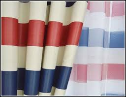 Red Blue Curtains Red Blue White Striped Curtains Curtains Home Design Ideas