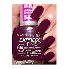 amazon com maybelline express finish nail polish charming cob