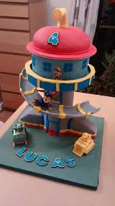 paw patrol control tower cake cake by catherine cakesdecor