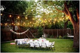 Ceiling String Lights by Backyards Awesome A Canopy Of String Lights In Our Backyard 94