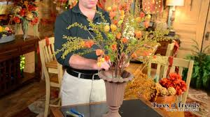 fall floral arrangements how to make a simple beautiful fall floral arrangement