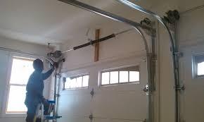 How To Install An Overhead Door Door Garage Garage Door Doctor Garage Door Service Houston