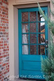 Teal Front Door by 44 Best Front Door Images On Pinterest Doors Windows And Aqua Door