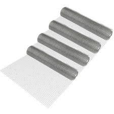 rete metallica per gabbie rotoli di rete metallica maglia quadra 1m x 25m zincata rete