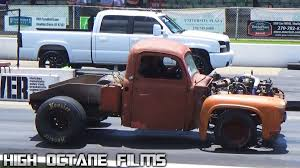 Old Ford Trucks Pictures - this mean looking rusty 1953 ford truck blown everyone away on the