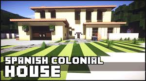 minecraft spanish colonial house youtube