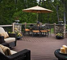 cozy decorating outdoor patio backyard wood deck designs best