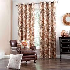 Dunelm Curtains Eyelet Natural Jacobean Lined Eyelet Curtains Dunelm Livingroom