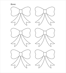 bow template diy bow kits templates bow template paper bow