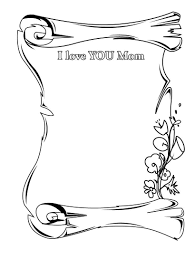 beautiful i love you mom coloring pages for kids coloring point