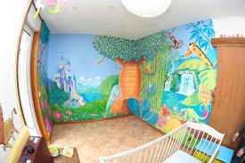 fresque chambre bébé dessin pour chambre b b avec pochoir chambre bebe pochoir deco