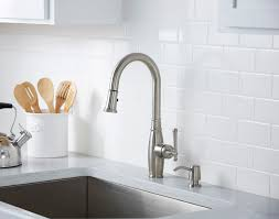 Giagni Fresco Stainless Steel 1 Handle Pull Down Kitchen Faucet by Vivace Pulldown U2013 Giagni