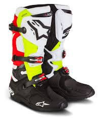 motorcycle road boots alpinestars men u0027s special edition tech 10 trey canard mx offroad