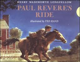 paul revere s ride book paul revere s ride illusrated by ted rand 000669 details