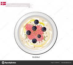 cuisine danemark koldskal ou babeurre frigo un dessert populaire au danemark image