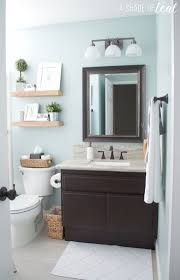 quick u0026 easy rustic bathroom refresh