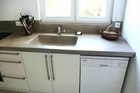 cuisine beton plan de travail mineral plan de travail en racsine stratifiac de