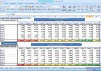 Sales Forecast Spreadsheet Exle by Sales Forecast Spreadsheet Template Excel Haisume With Regard To