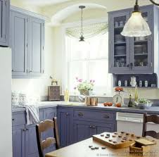 country kitchen features blue captivating blue kitchen cabinets