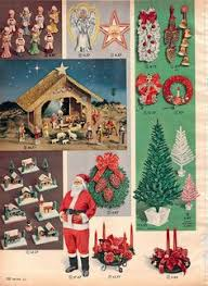 decorative cardboard fireplaces in sears christmas catalog 1969
