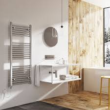 Neptune Bathroom Furniture by Neptune Electric Towel Rail Chrome 1200mm X 500mm Easy Bathrooms