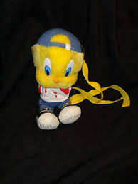 baseball tweety bird plush stuffed animal book bag ebay