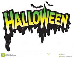 halloween type graphic logo royalty free stock photography image