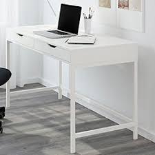 bureau blanc laqué ikea console chambre ikea idées décoration intérieure