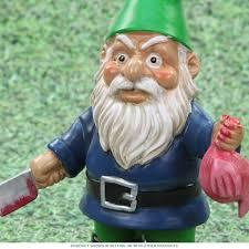 Lawn Gnome by Butcher Garden Gnome Lawn Statue Funny Outdoor Decor