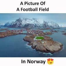 Norway Meme - dopl3r com memes a picture of a football field in norway
