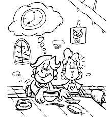 coloriages et dessins pour les enfants sur le thème chocolat