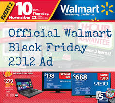 walmart s black friday flyer is here 2012 ad