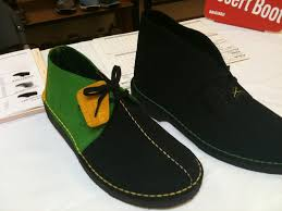Colors Of Jamaican Flag Jordys Mens Store Clarks Limited Edition Desert Boot Jamaican