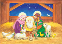 in the manger cards