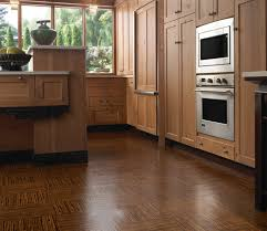 kitchen flooring travertine tile best floors for kitchens leather