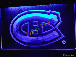 montreal home decor ld091 montreal canadiens hockey nr neon light sign home decor