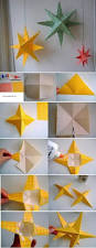 How To Make Paper Christmas Decorations At Home Best 25 Paper Stars Ideas On Pinterest Origami Stars 3d Paper