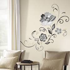 room mates deco piece flower scroll wall decal reviews wayfair room mates deco piece flower scroll wall decal