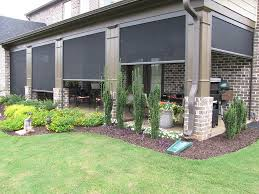 Retractable Awning With Screen Retractable Screens Shades And Awnings Working Space