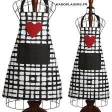 tablier de cuisine tablier de cuisine motif cœur