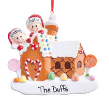 personalized gingerbread family ornament kimball