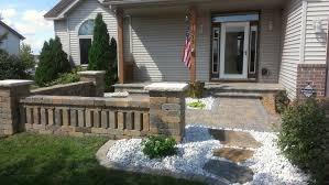 Patio Edging Options by Landscape Edging Ideas Brick Stone Plastic Concrete