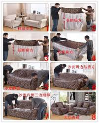 Couch Covers For Reclining Sofa by Sectional Couch Covers L Shaped Sofa Cover Elastic Universal Wrap