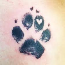 paw tattoo images u0026 designs