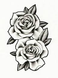 tattoo pictures of roses we heart it pinteres